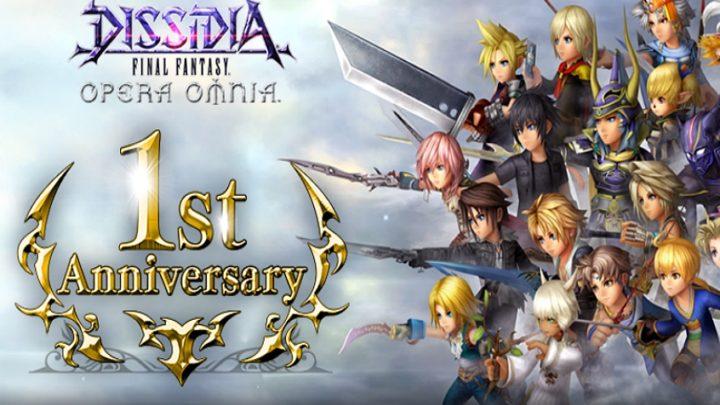 Dissidia Final Fantasy Opera Omnia : un an déjà !