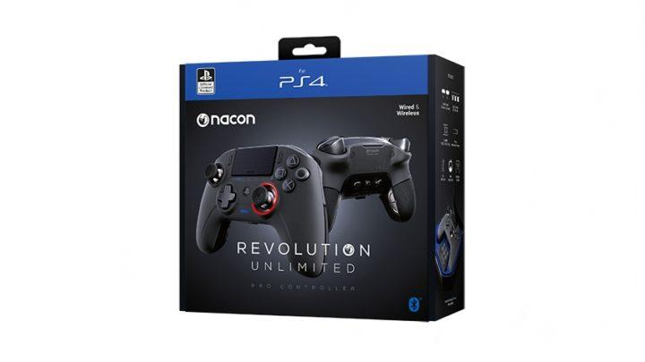 Revolution Unlimited Pro Controller : la Nacon pour PS4 !