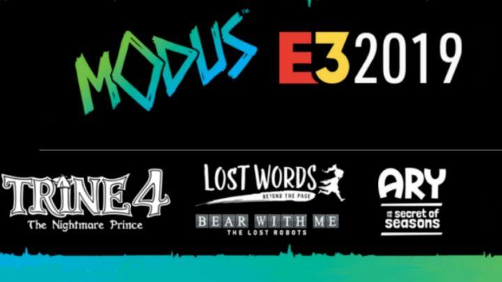 Les jeux Modus Games présents à l'E3 2019 !