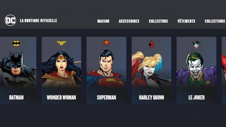DC Comics : la boutique française des goodies !