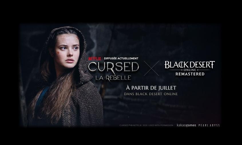 Cursed et Black Desert Online : le crossover inattendu !